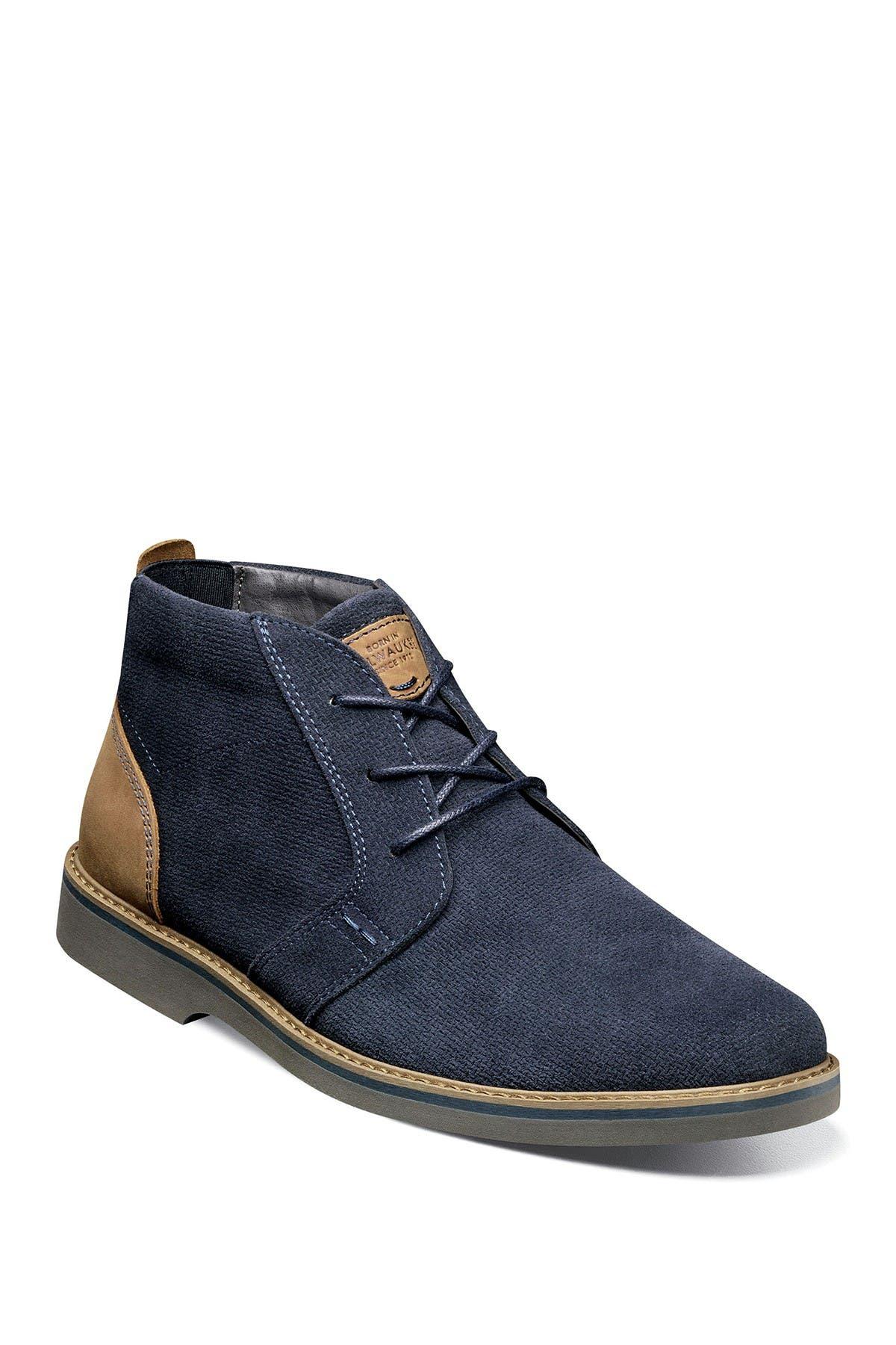 Image of NUNN BUSH Barklay Leather Plain Toe Chukka Boot