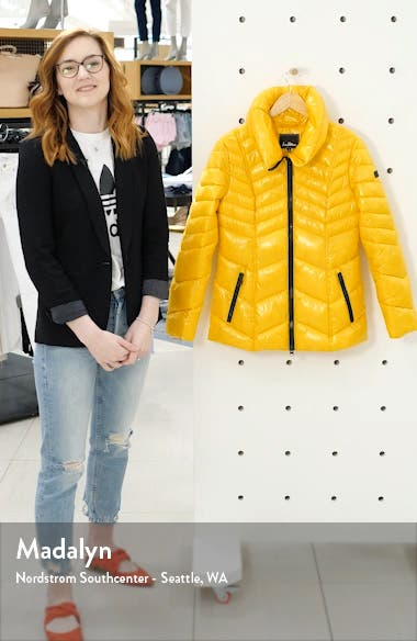 Chevron Puffer Jacket, sales video thumbnail