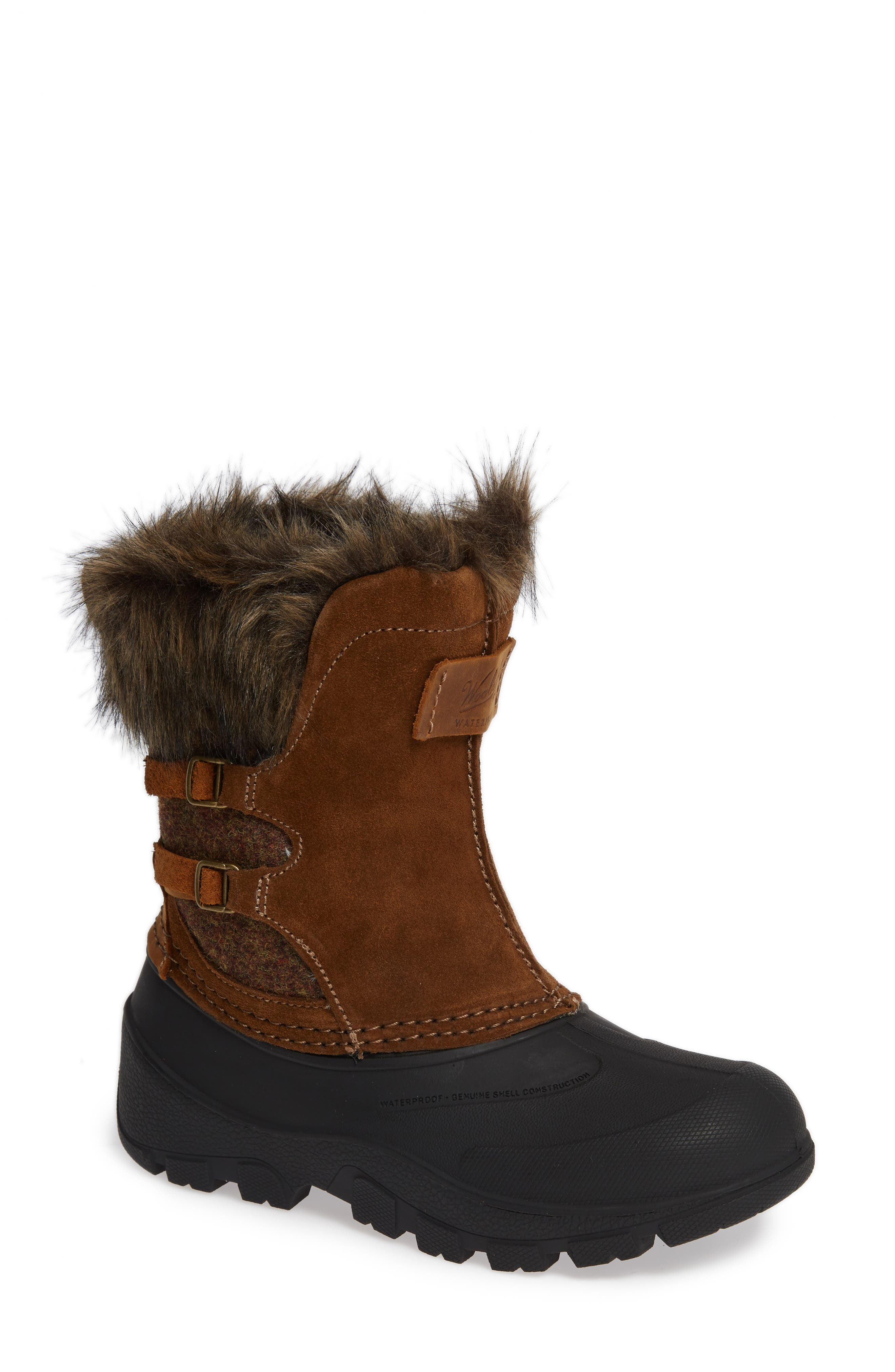 Woolrich Icecat Ii Fully Woolly Waterproof Insulated Winter Boot, Brown