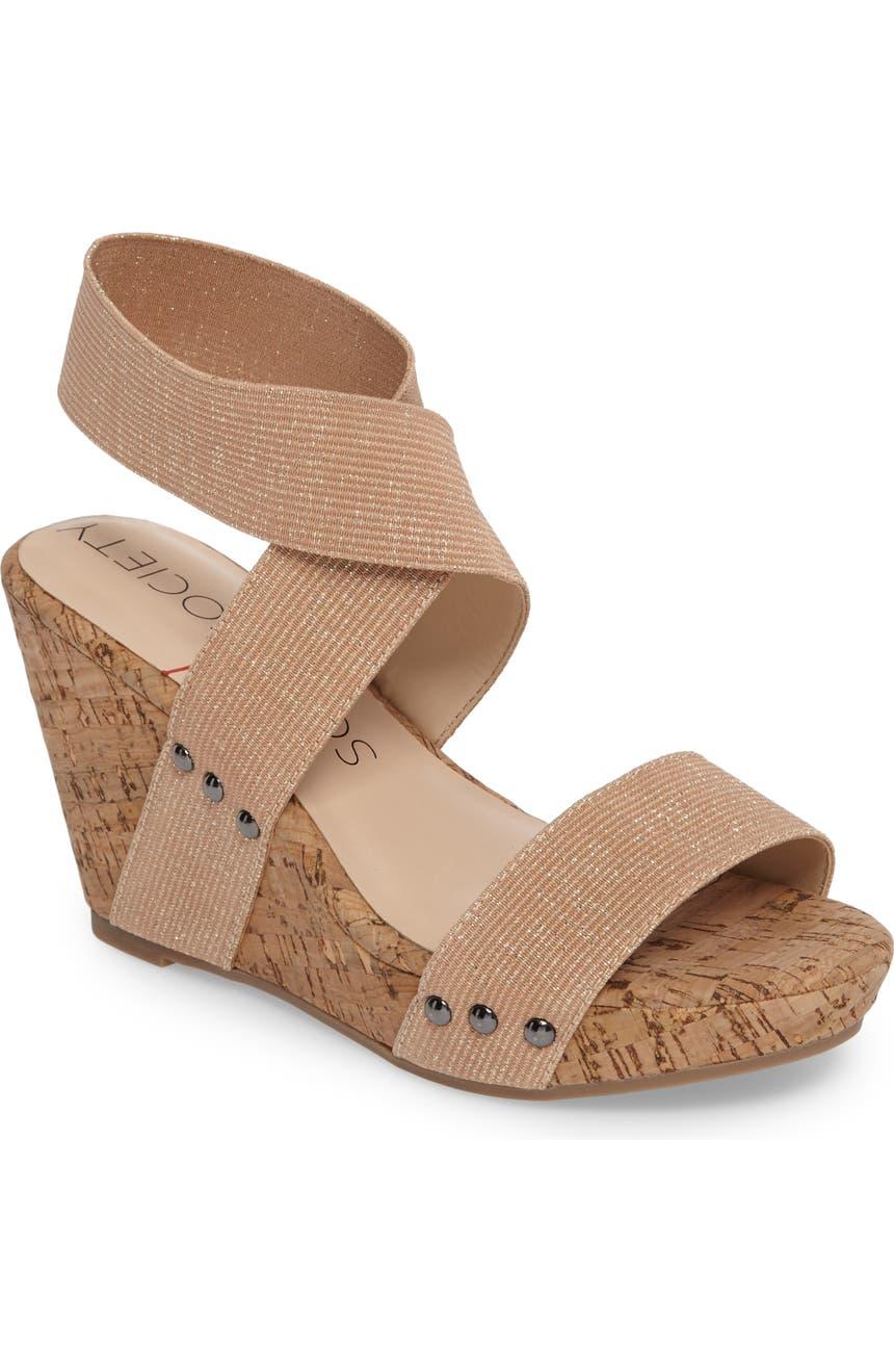 273de39476 Sole Society Analisa Platform Wedge Sandal (Women) | Nordstrom