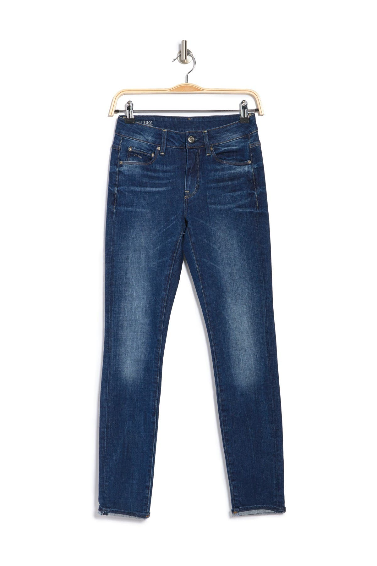 Image of G-STAR RAW 3301 High Skinny Jeans