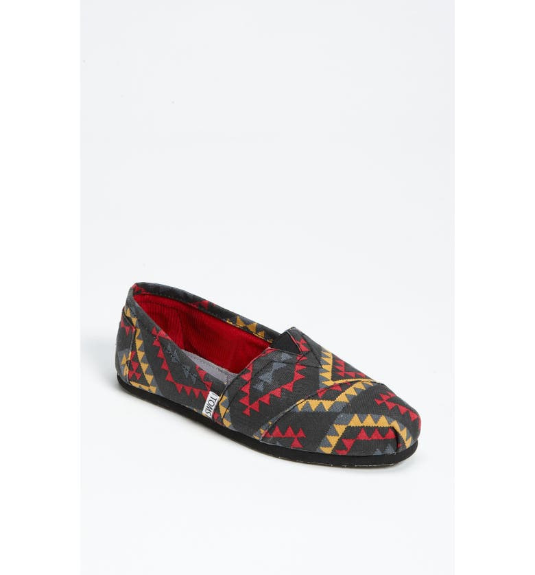 TOMS 'Classic - Indo' Slip-On, Main, color, 001