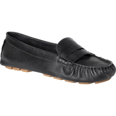 Ukies Driving Moccasin Loafer, Black