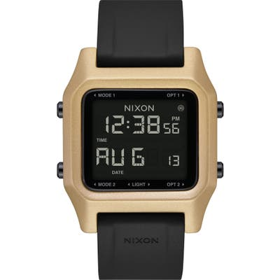 Nixon Staple Digital Silicone Strap Watch,