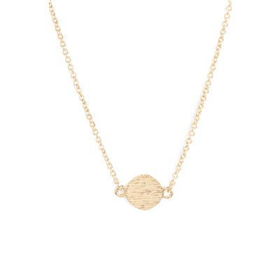 Sterling Forever Circle Pendant Necklace