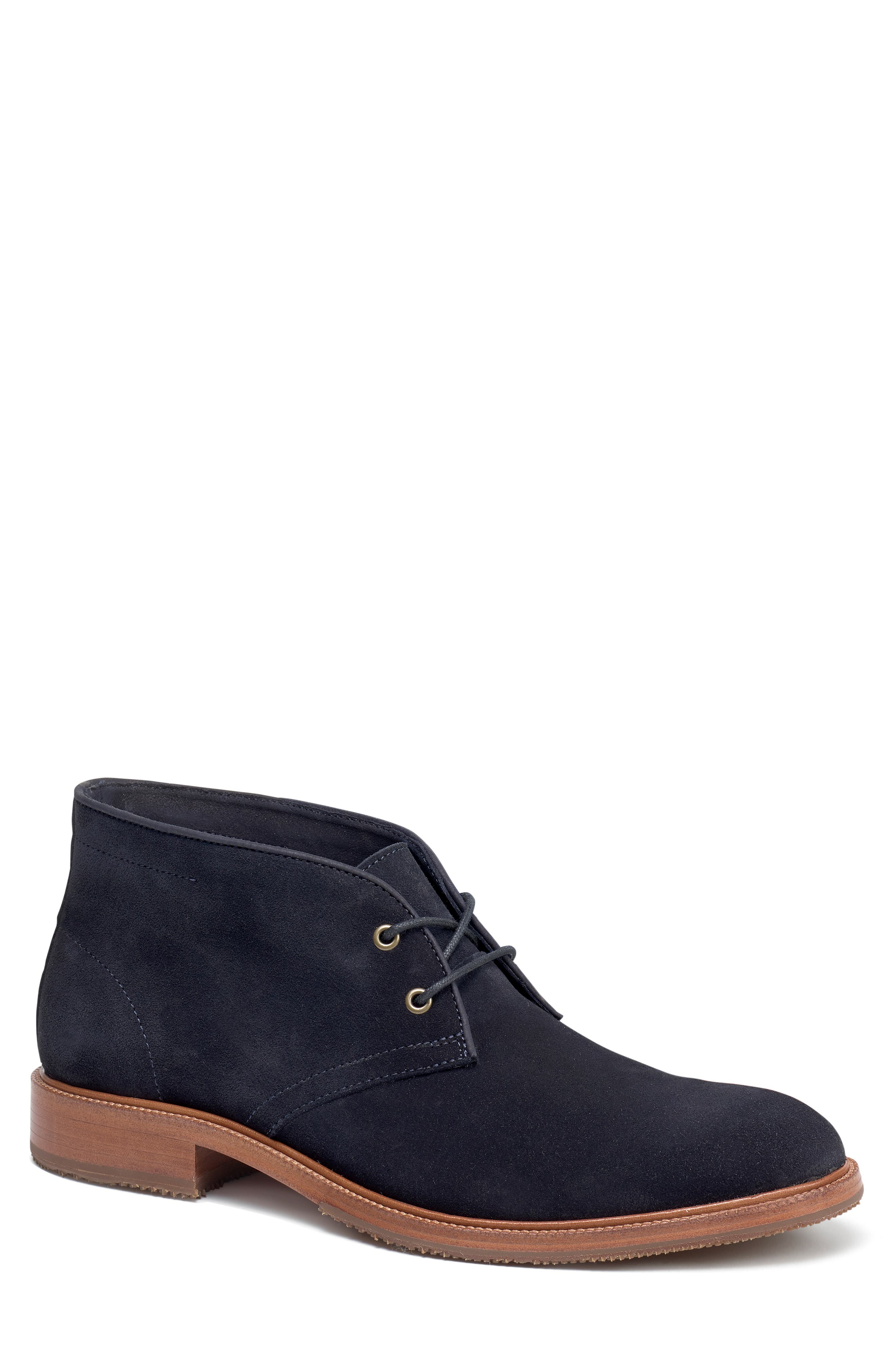 Trask Landers Chukka Boot, Blue