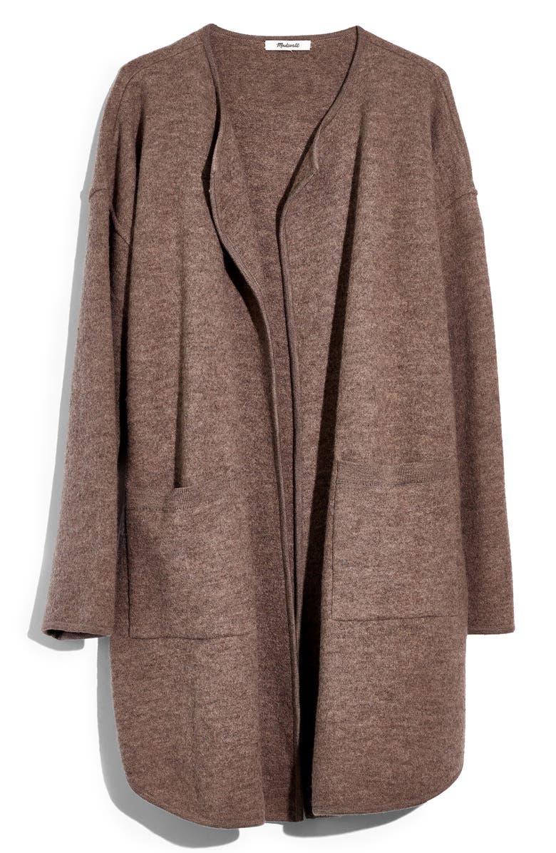 MADEWELL Minetta Sweater Coat, Main, color, 230