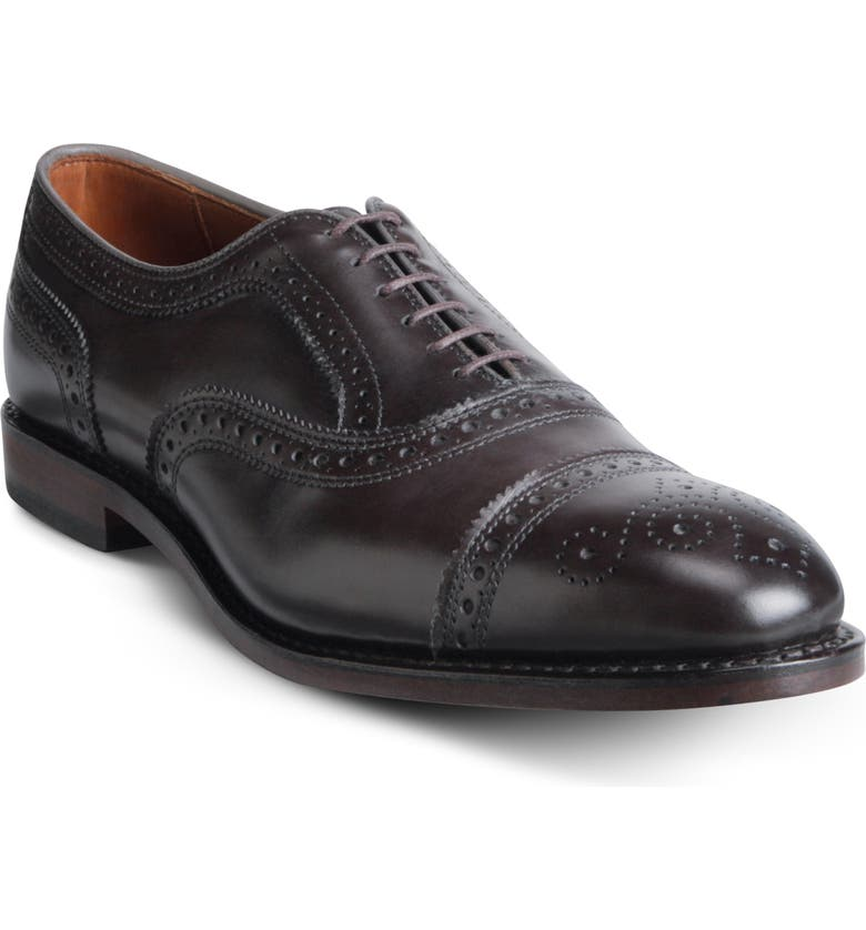 ALLEN EDMONDS 'Strand' Cap Toe Oxford, Main, color, 011