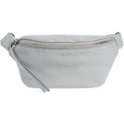 Rebecca Minkoff Bree Leather Belt Bag - Grey