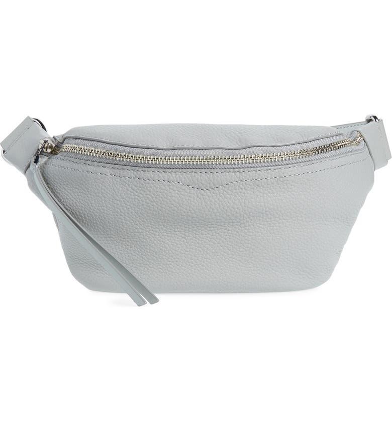 REBECCA MINKOFF Bree Leather Belt Bag, Main, color, 032