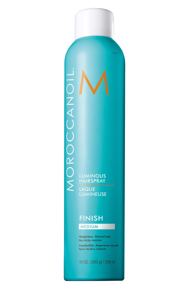 MOROCCANOIL<SUP>®</SUP> Luminous Hair Spray Medium, Main, color, NO COLOR
