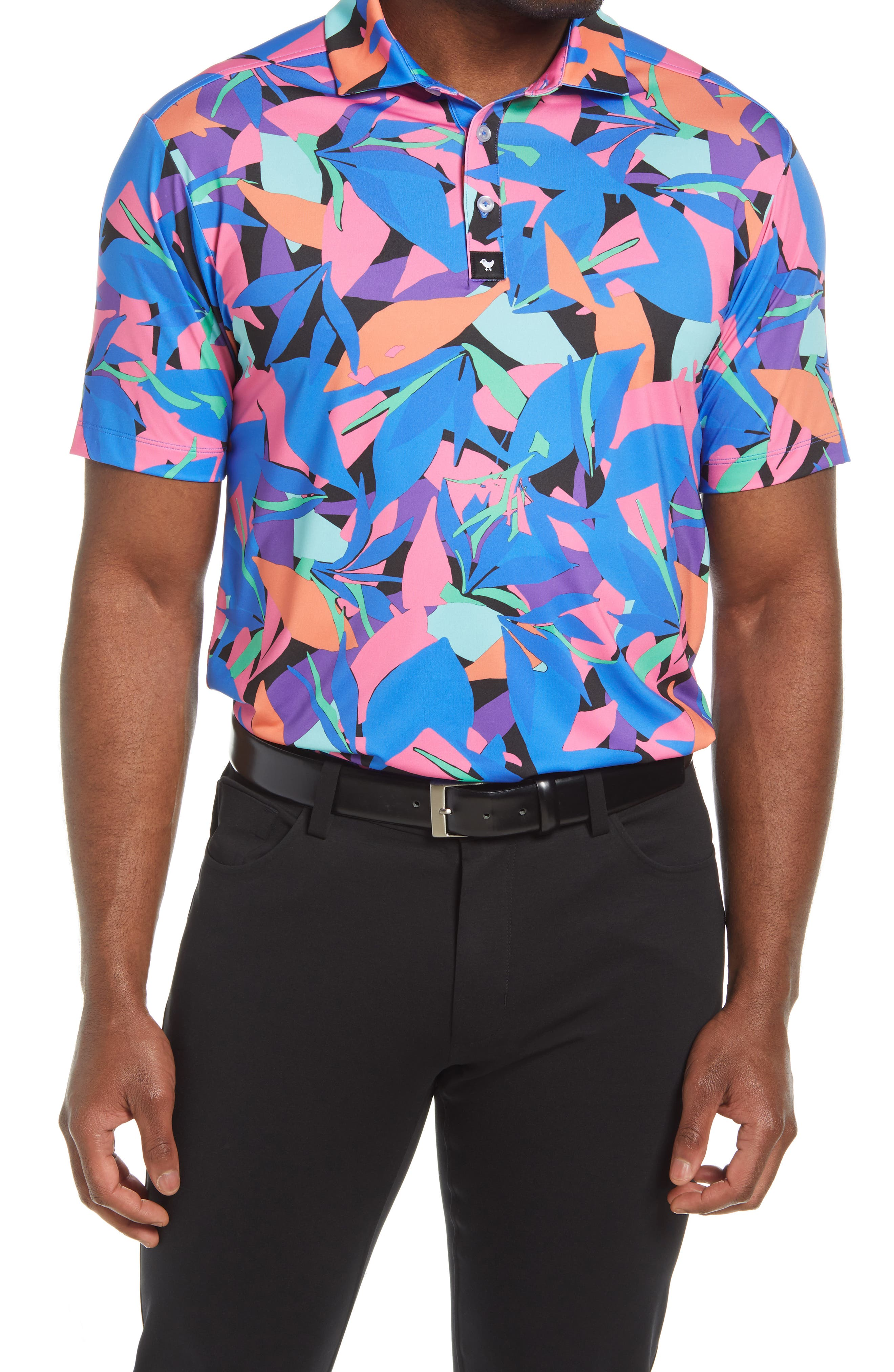 Punch Out Performance Golf Polo