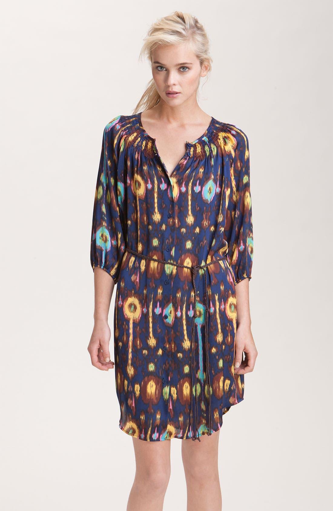 Print Shirtdress, Main, color, 418