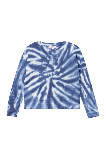 Image of Design History Tie Dye Print Knit Sweater
