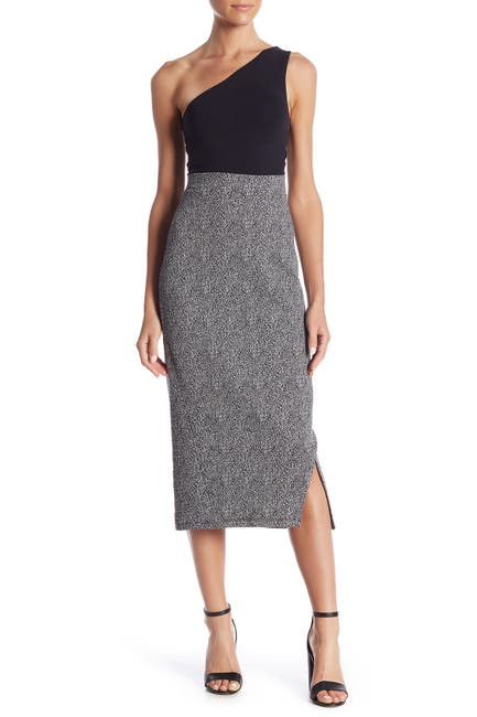 Image of 14th & Union Patterned Ponte Skirt