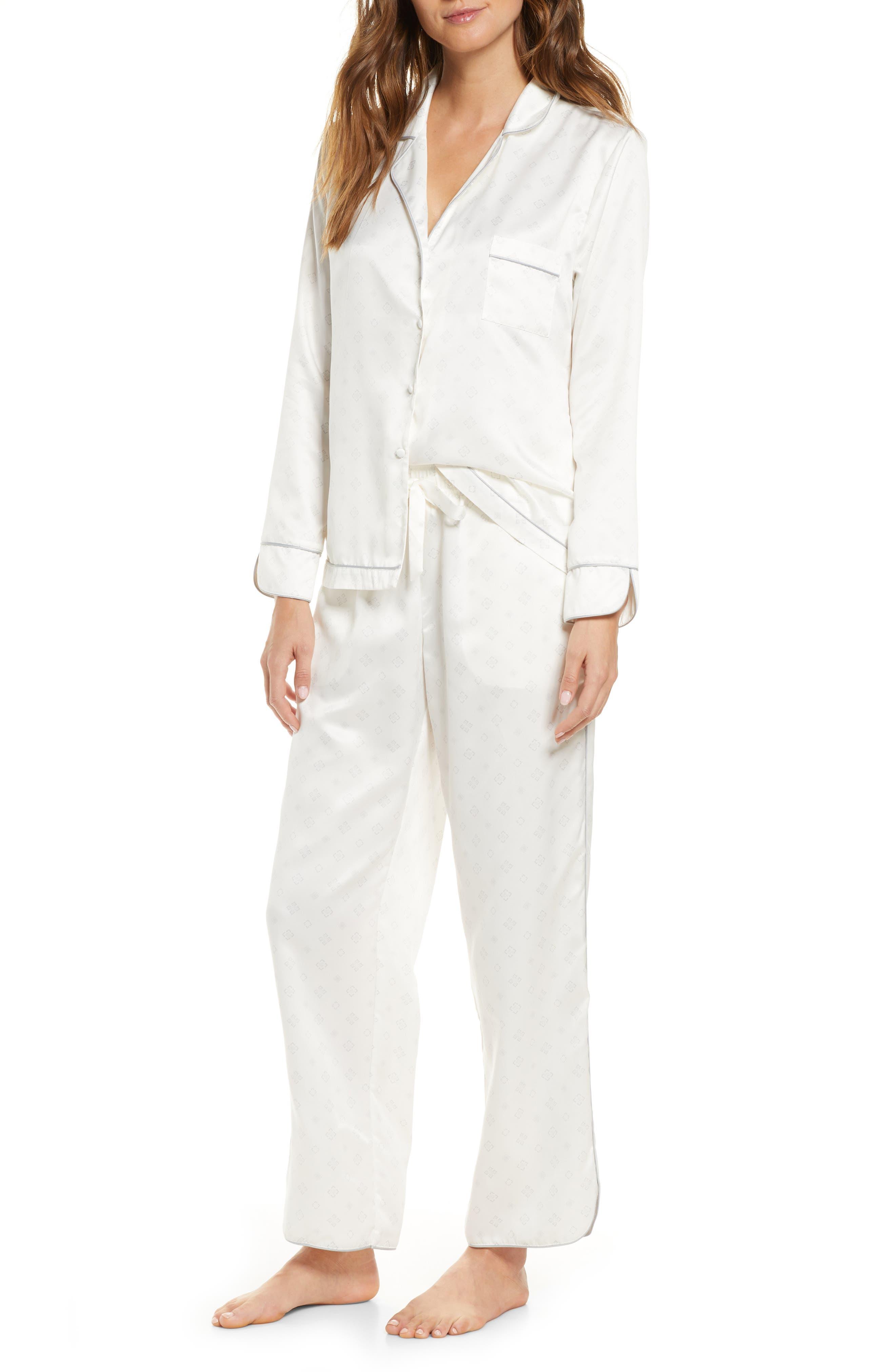 Rachel Parcell Satin Pajamas (Nordstrom Exclusive)