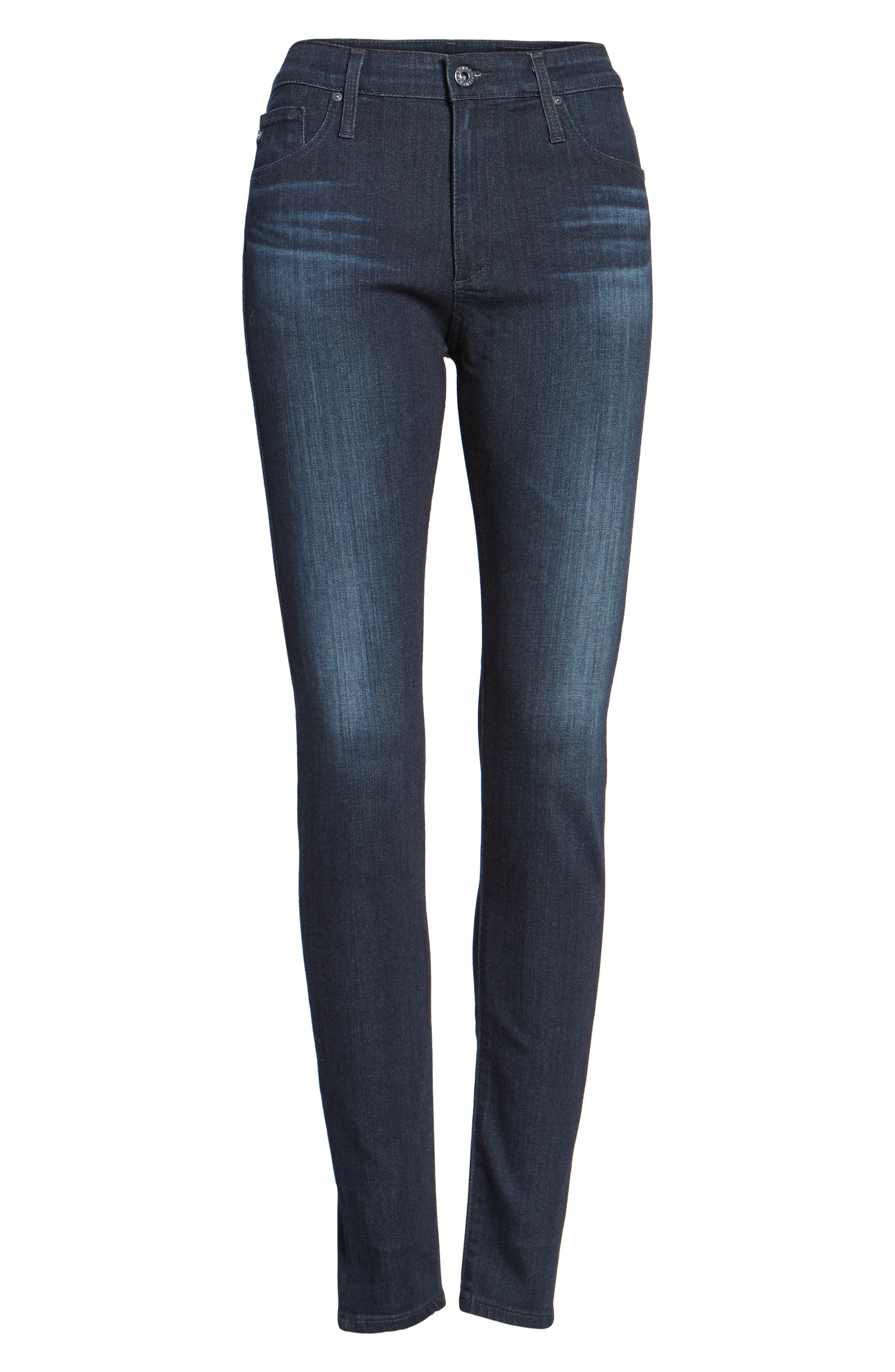 The Farrah High Waist Skinny Jeans, Main, color, BROOKS