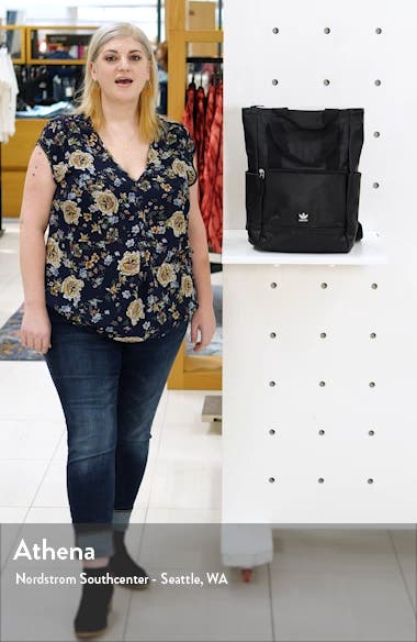 Tote Pack III Faux Leather Backpack, sales video thumbnail