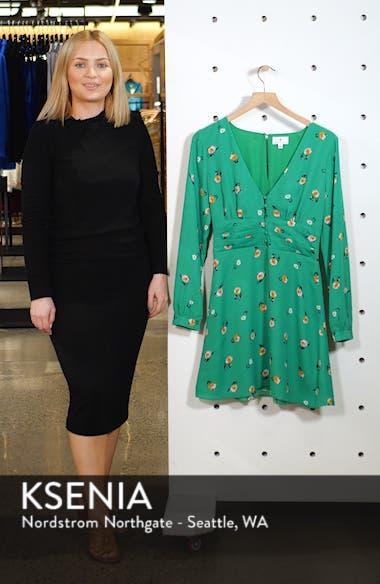 Print Button Dress, sales video thumbnail