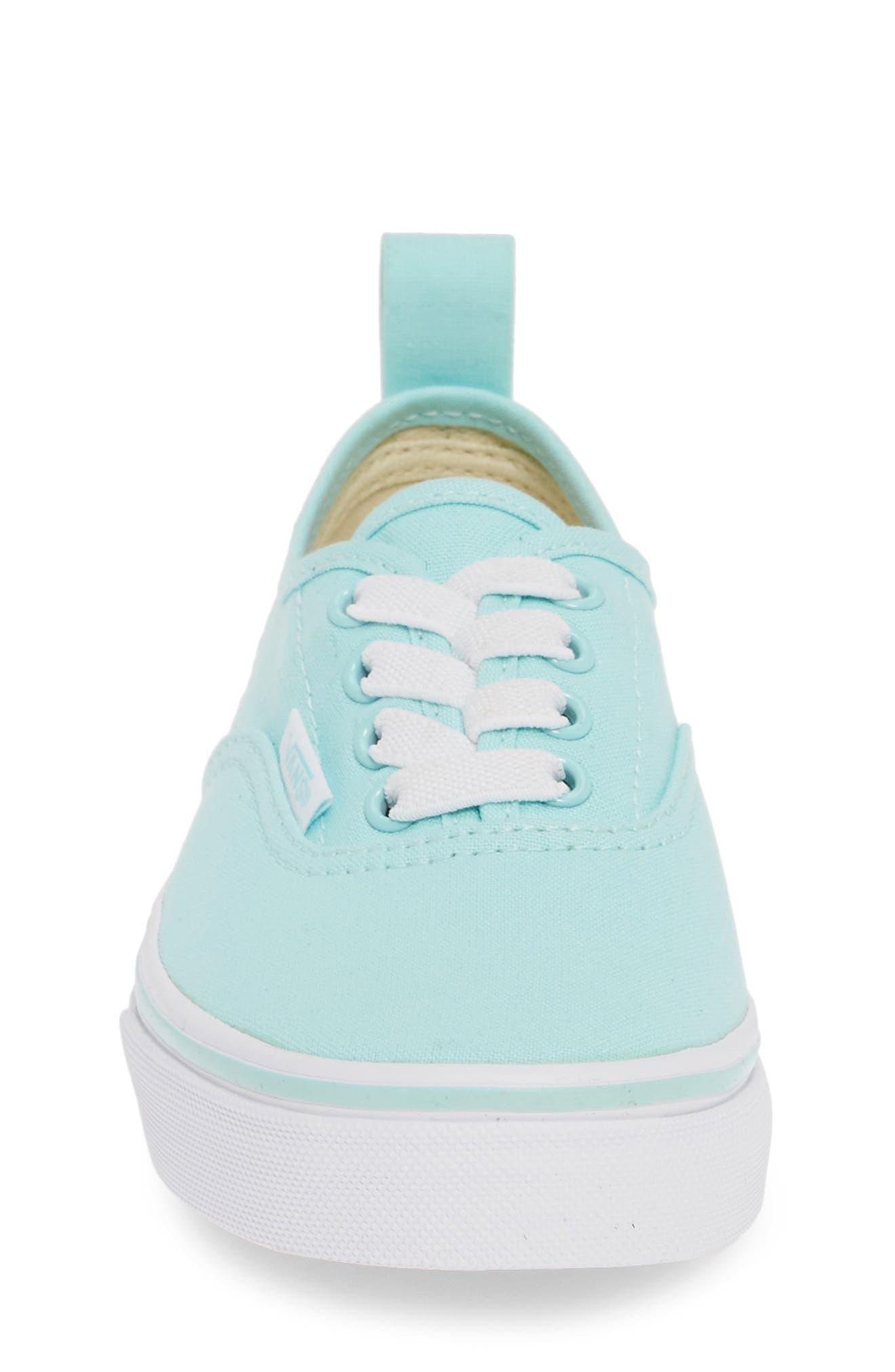 ,                             Authentic Sneaker,                             Alternate thumbnail 4, color,                             BLUE TINT/ TRUE WHITE