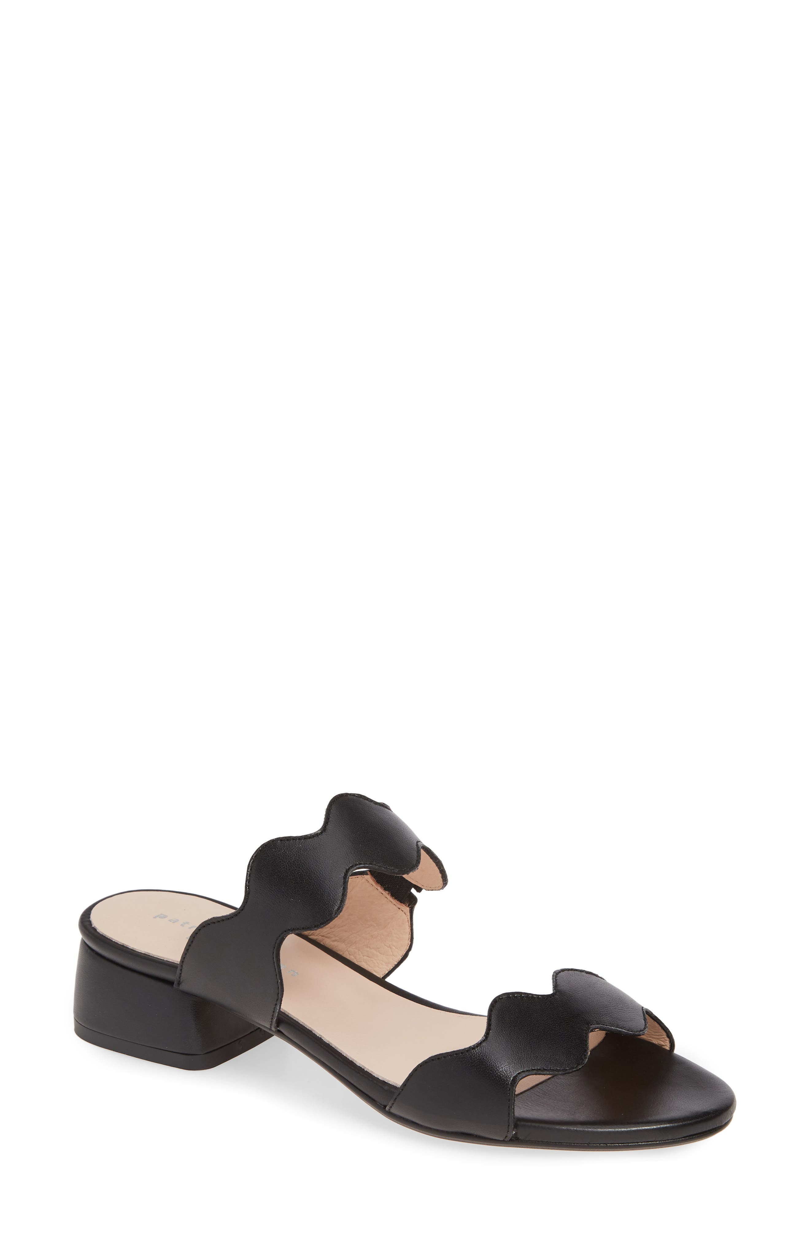 Patricia Green Bali Slide Sandal, Black