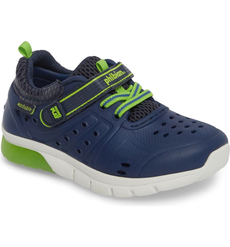 STRIDE RITE Made2Play<sup>®</sup> Phibian Light-Up Sneaker, Main, color, 410