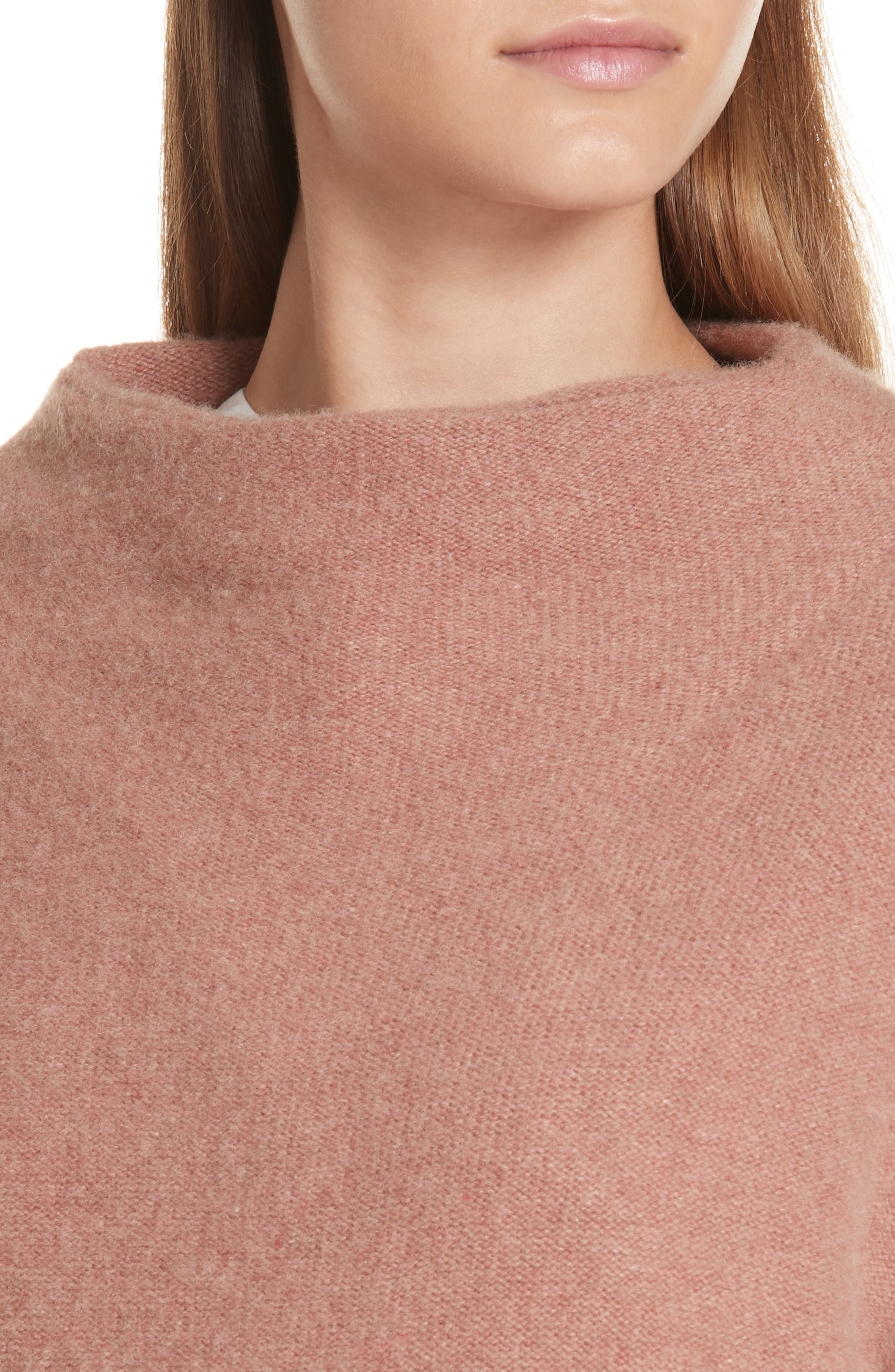 ,                             Funnel Neck Cashmere Sweater,                             Alternate thumbnail 18, color,                             690