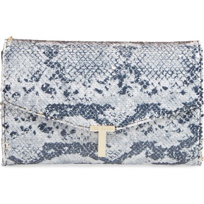 Ted Baker London Johanaa Flip Sequin Clutch - Black