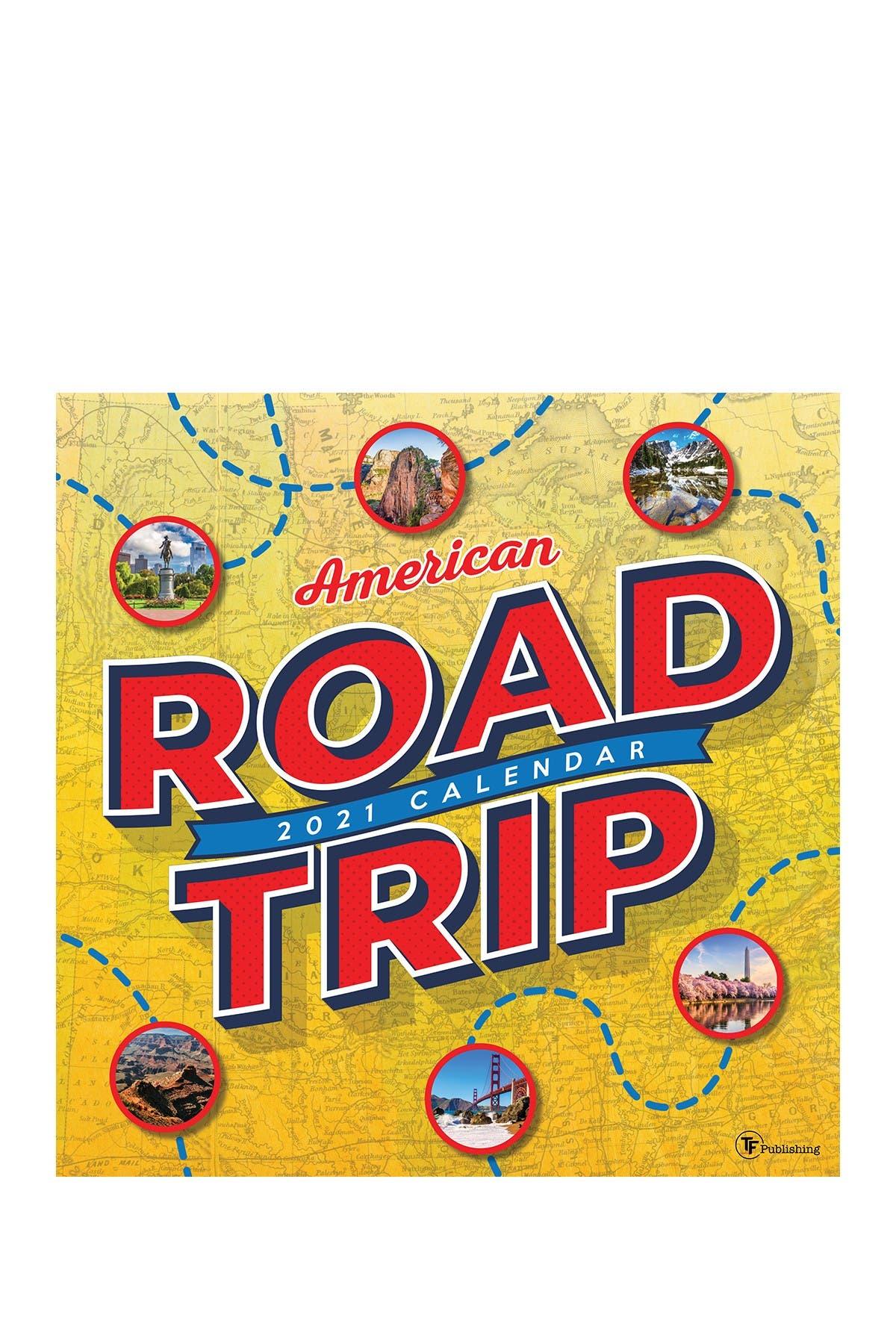 Image of TF Publishing 2021 Road Trip: America Wall Calendar