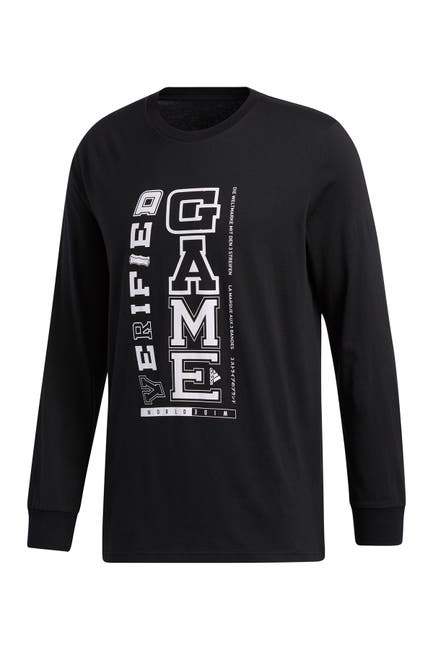 Image of adidas Collegiate Clash Long Sleeve Graphic T-Shirt