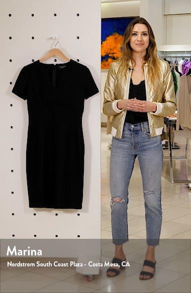 Micro Bouclé Knit Dress, sales video thumbnail