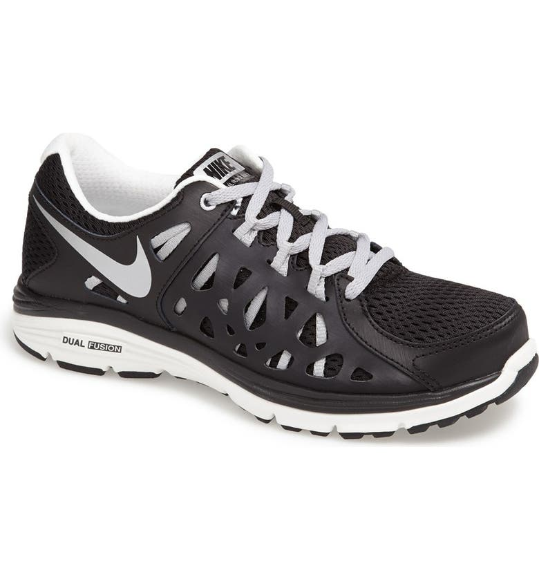 NIKE 'Dual Fusion 2.0' Running Shoe, Main, color, 001