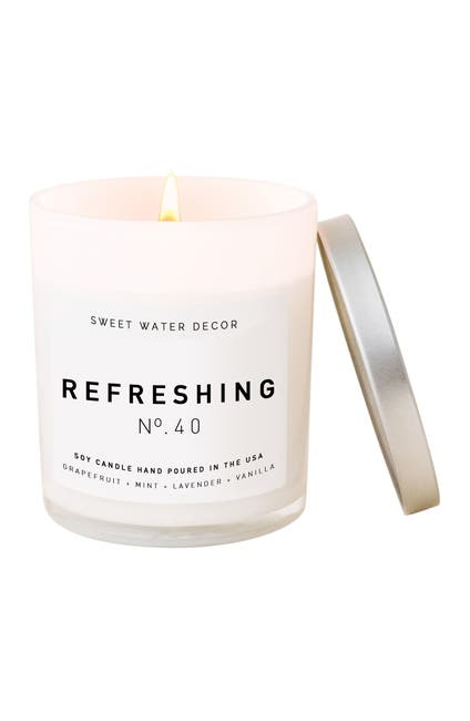 Image of SWEET WATER DECOR Refreshing 11 oz. Soy Jar Candle - Set of 2