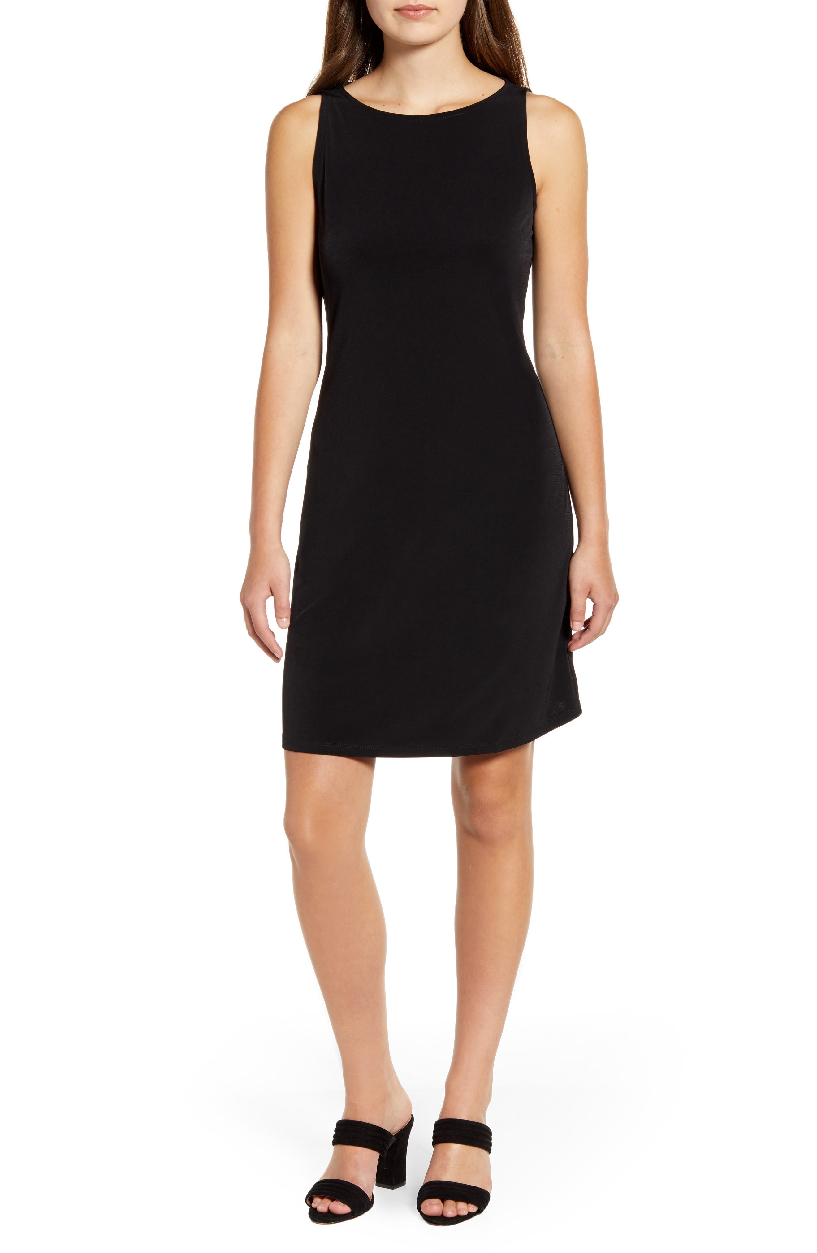 Tommy Bahama Matte Jersey Sleeveless Dress, Black