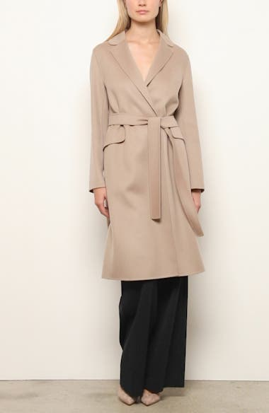 Polly Wool Wrap Coat, video thumbnail