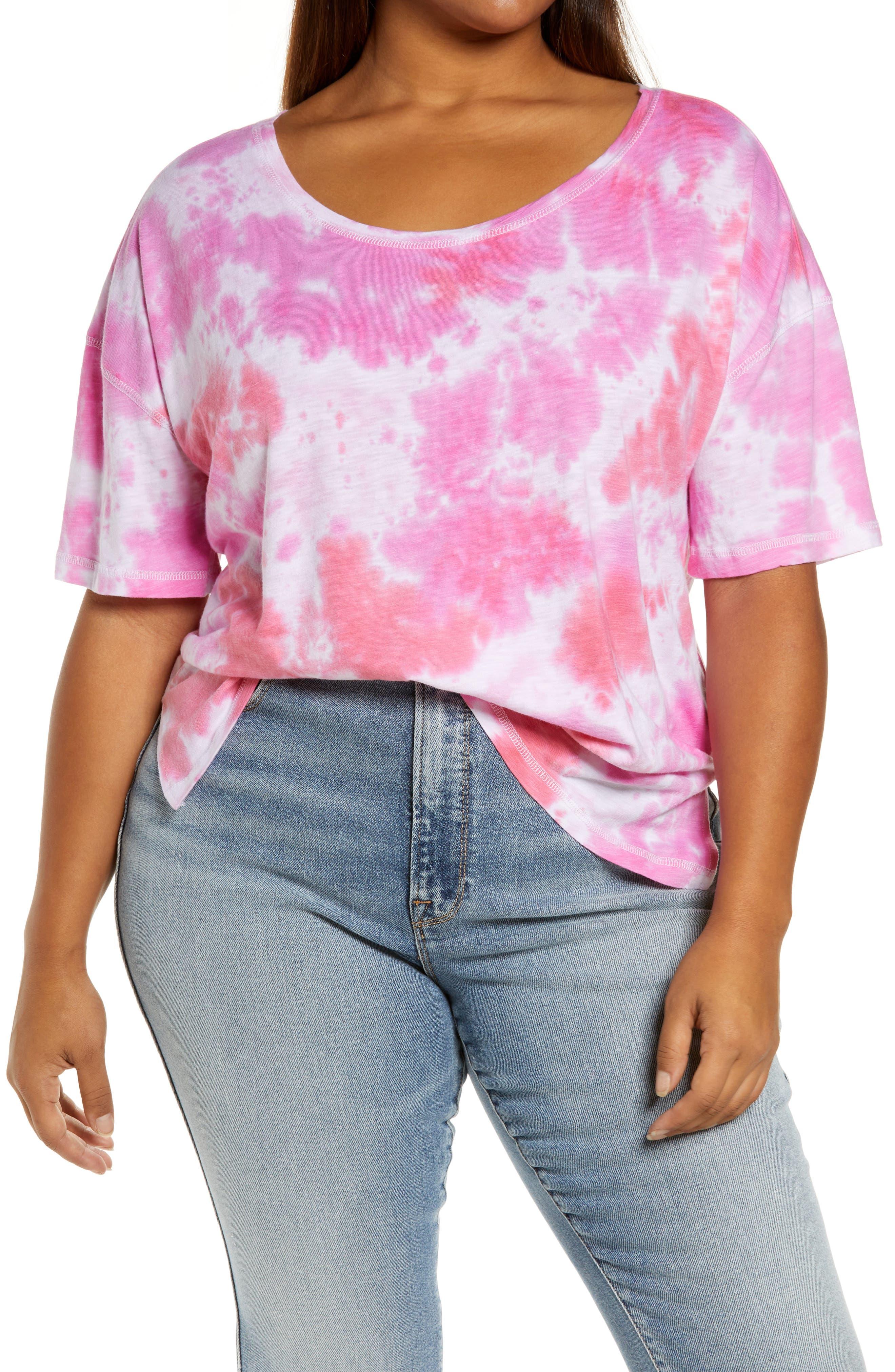 Scoop Neck Boxy T-Shirt