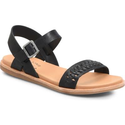 Kork-Ease Yucca Braid Sandal, Black