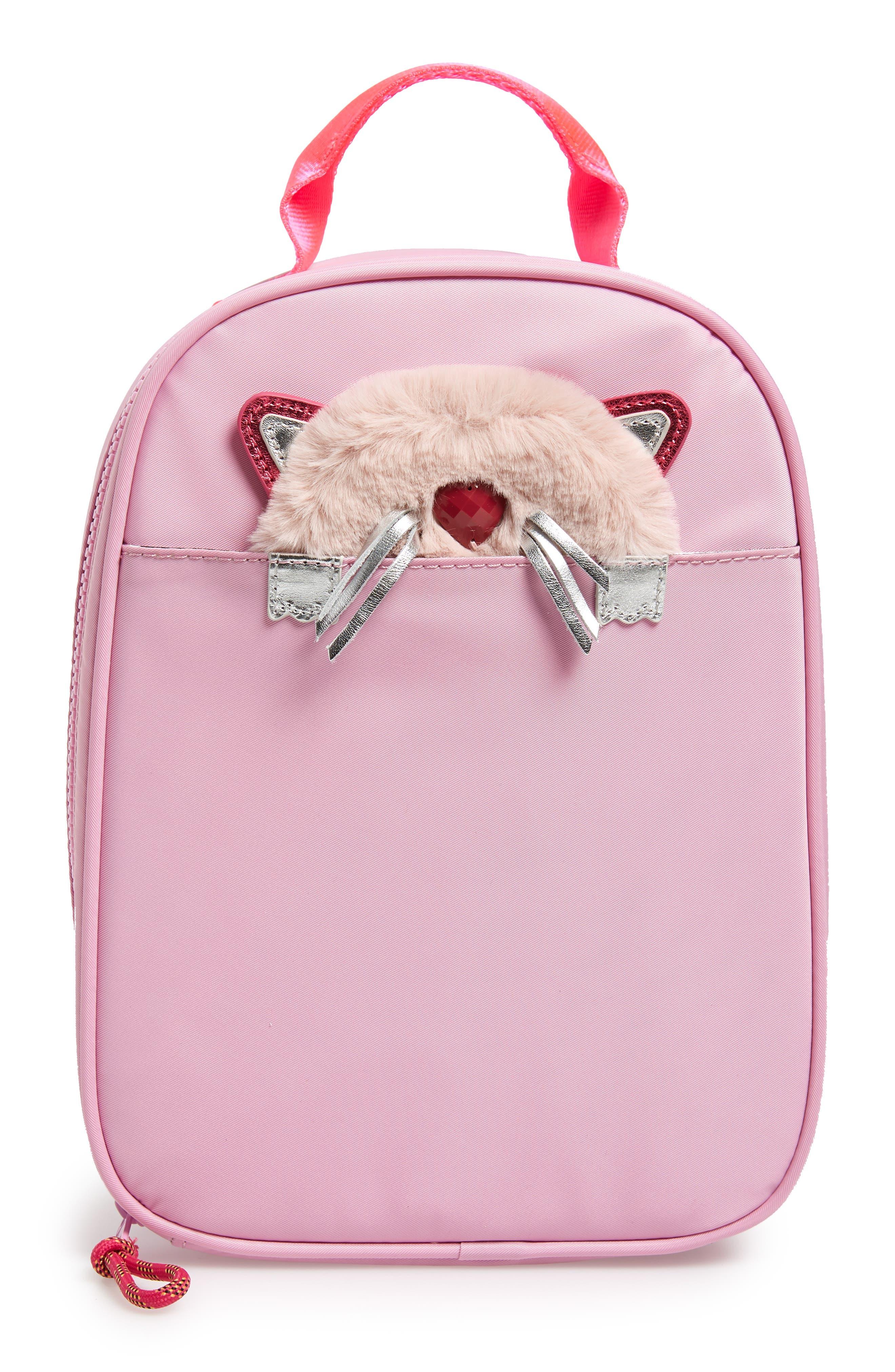 Peekaboo Cat Insulated Lunch Box, Main, color, 650