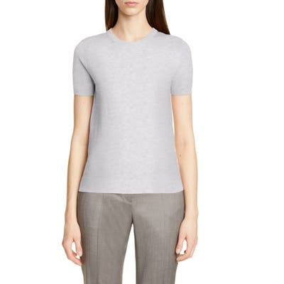 Boss Falyssa Merino Wool Knit Sweater, Grey
