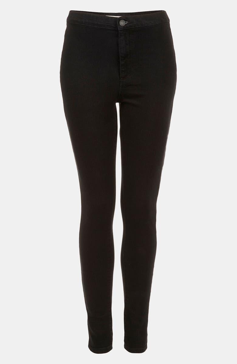 TOPSHOP Moto 'Joni' High Waist Skinny Jeans, Main, color, 001