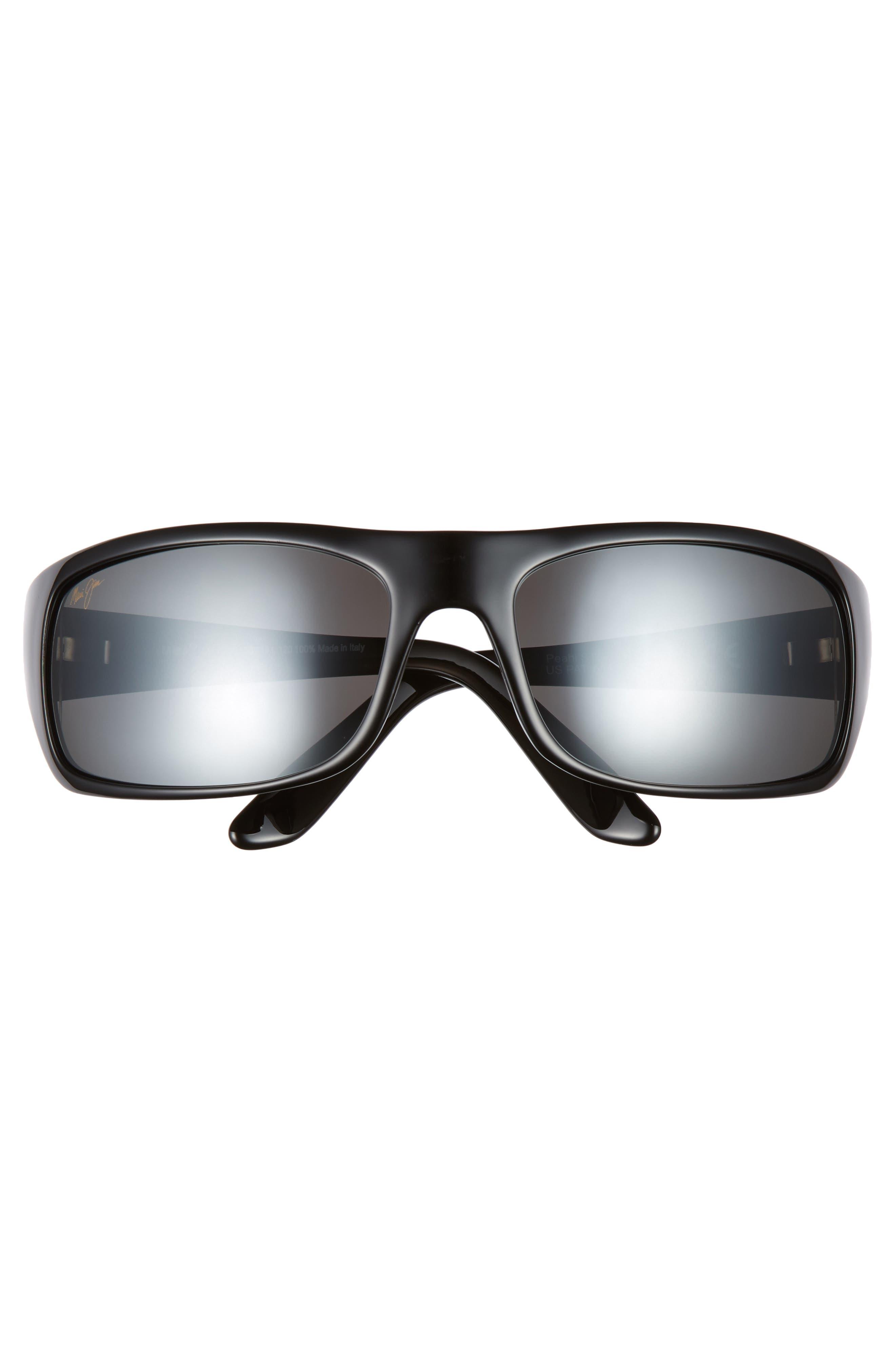 ,                             'Peahi - PolarizedPlus<sup>®</sup>2' 67mm Sunglasses,                             Alternate thumbnail 3, color,                             GLOSS BLACK / NEUTRAL GREY