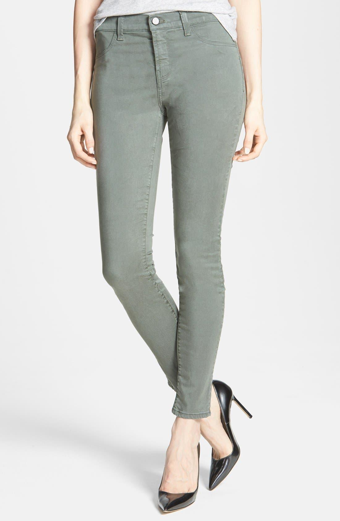 ,                             '485' Mid Rise Super Skinny Jeans,                             Main thumbnail 34, color,                             324