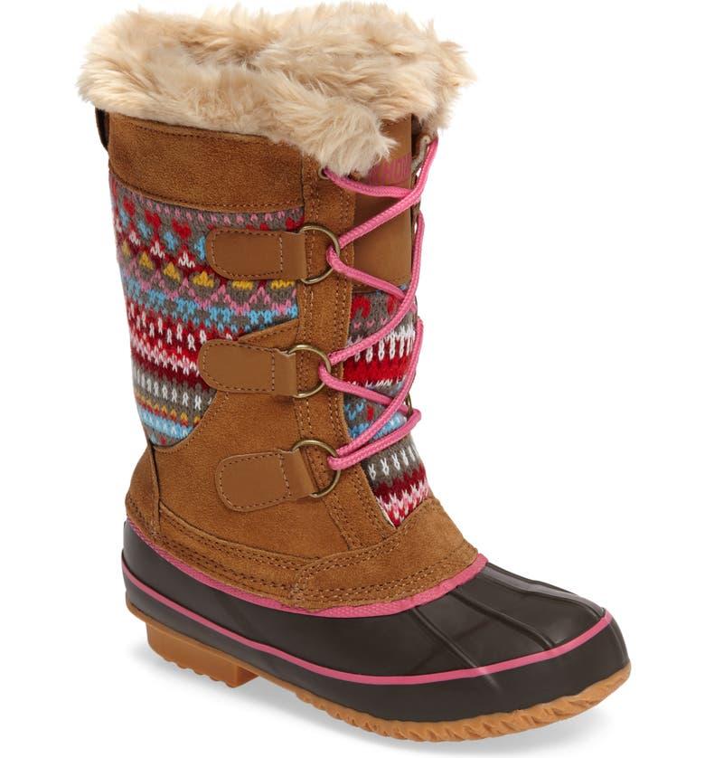 KHOMBU Rhone Waterproof Boot, Main, color, TAN