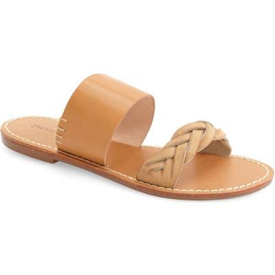 Soludos Slide Sandal- Brown