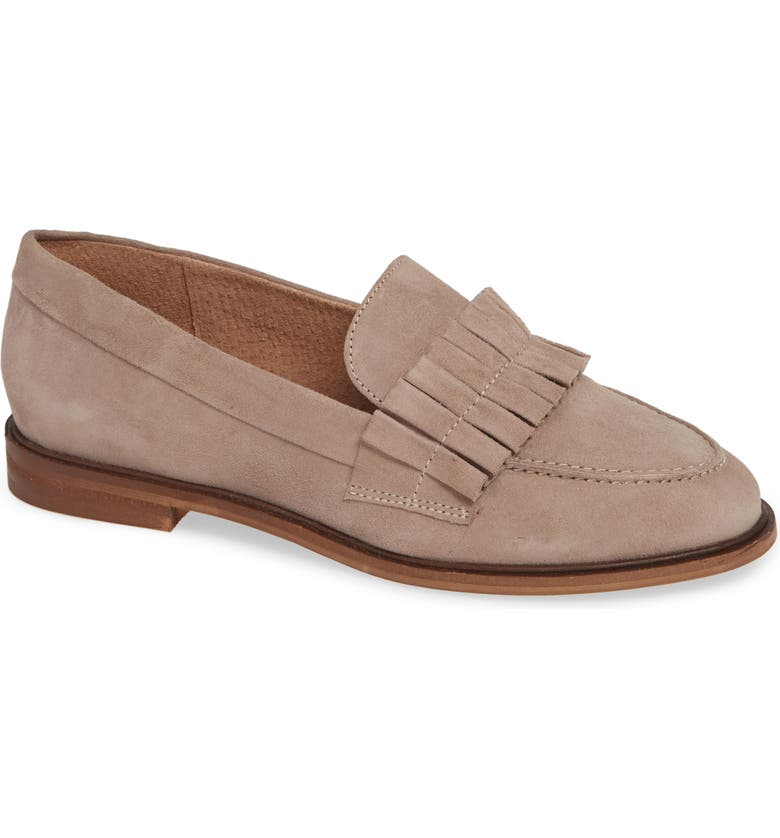 SEYCHELLES Powerful Loafer, Main, color, TAUPE SUEDE