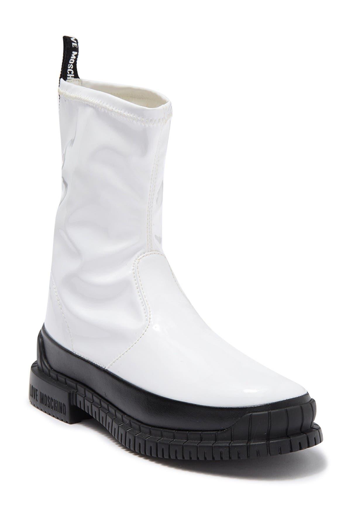Image of LOVE Moschino Modern Patent Boot
