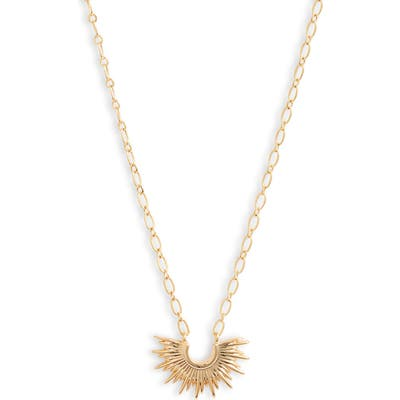 Bracha Mini Blaze Pendant Necklace