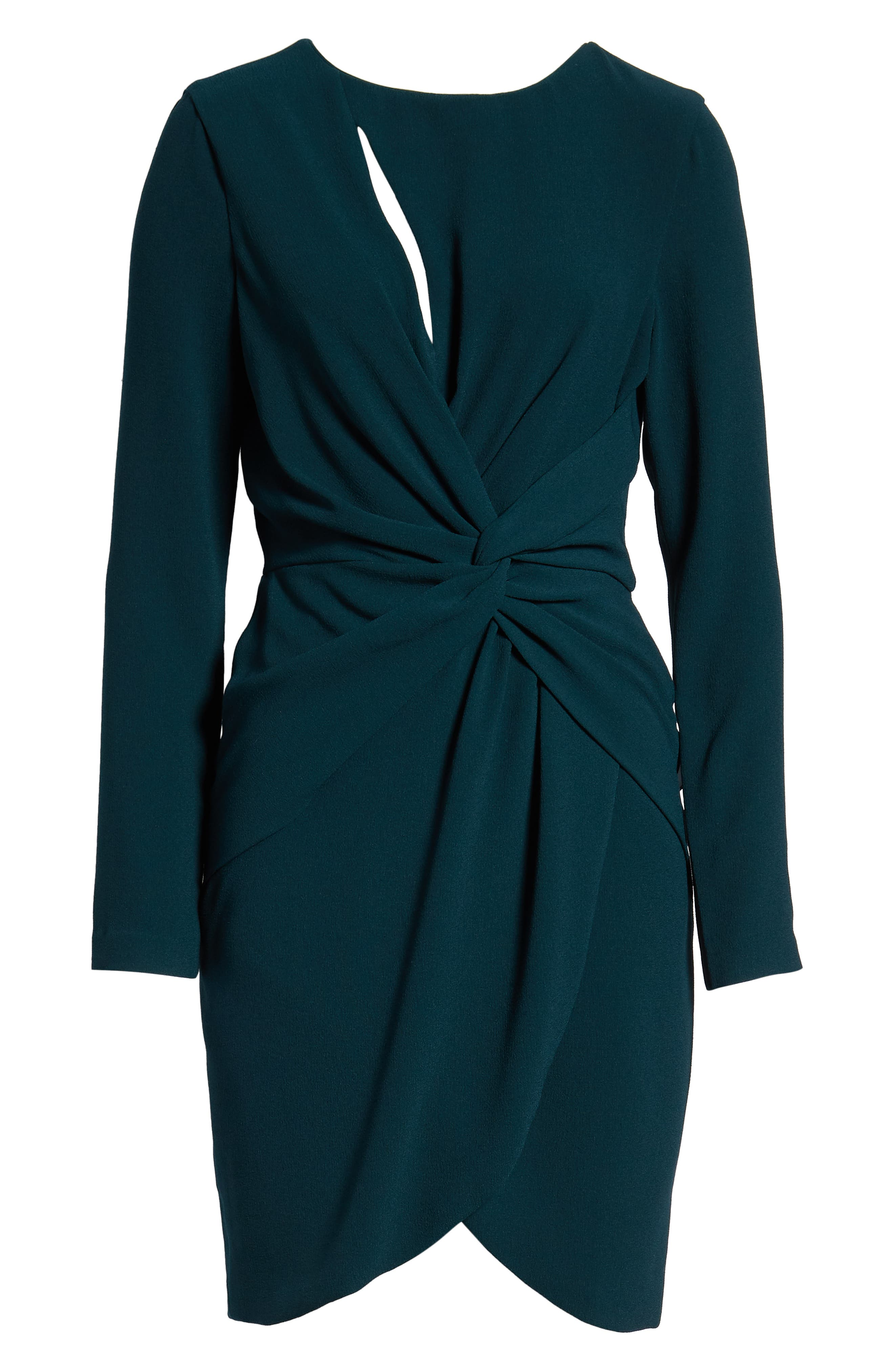 ,                             Coby Twisted Faux Wrap Cocktail Dress,                             Alternate thumbnail 11, color,                             301