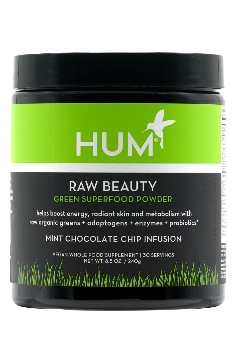 HUM NUTRITION Raw Beauty Skin & Energy Green Superfood Powder, Main, color, NO COLOR