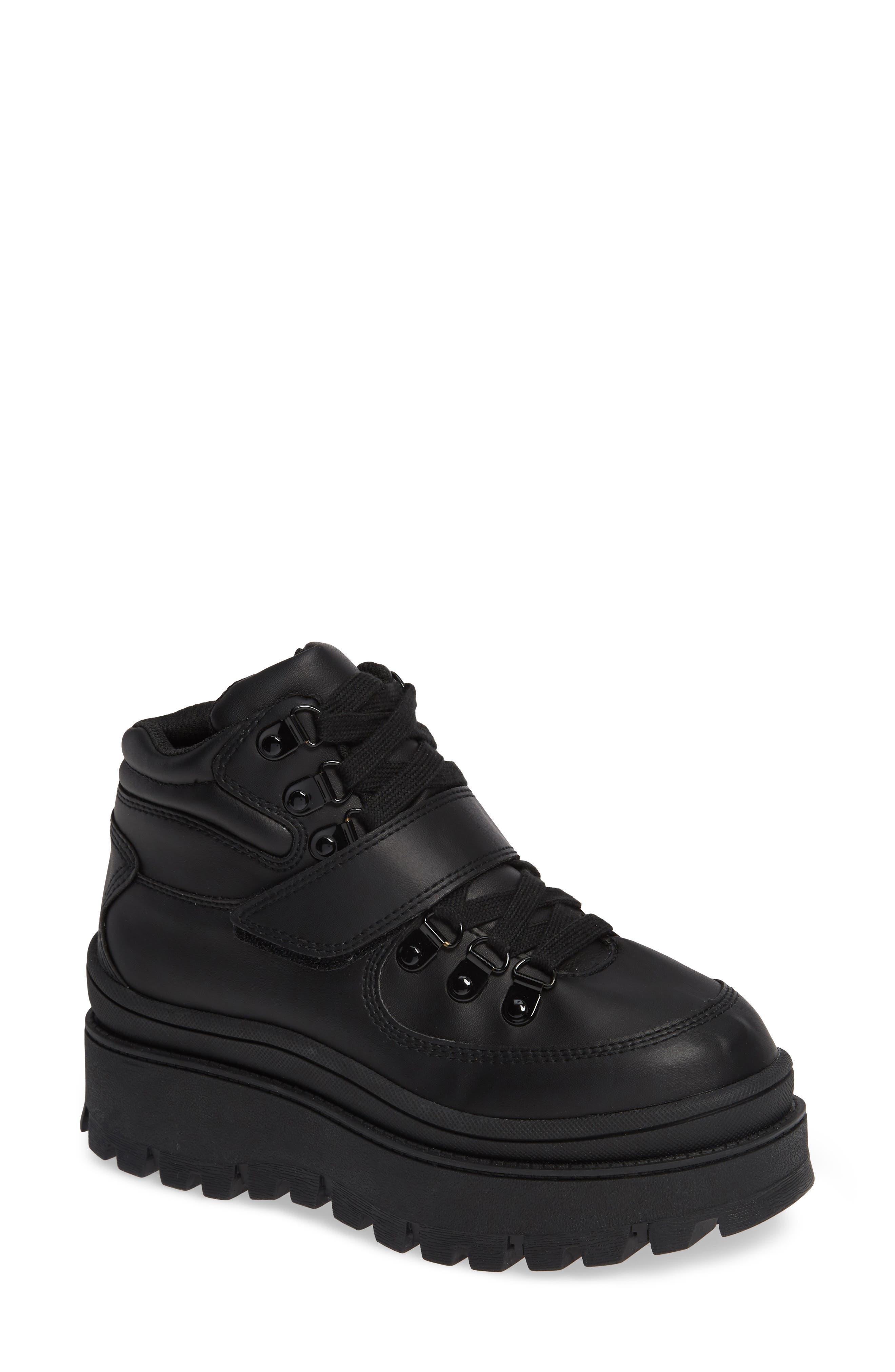 Image of Jeffrey Campbell Top-Peak Platform Sneaker